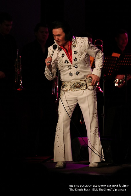 The King is back - Elvis the Show